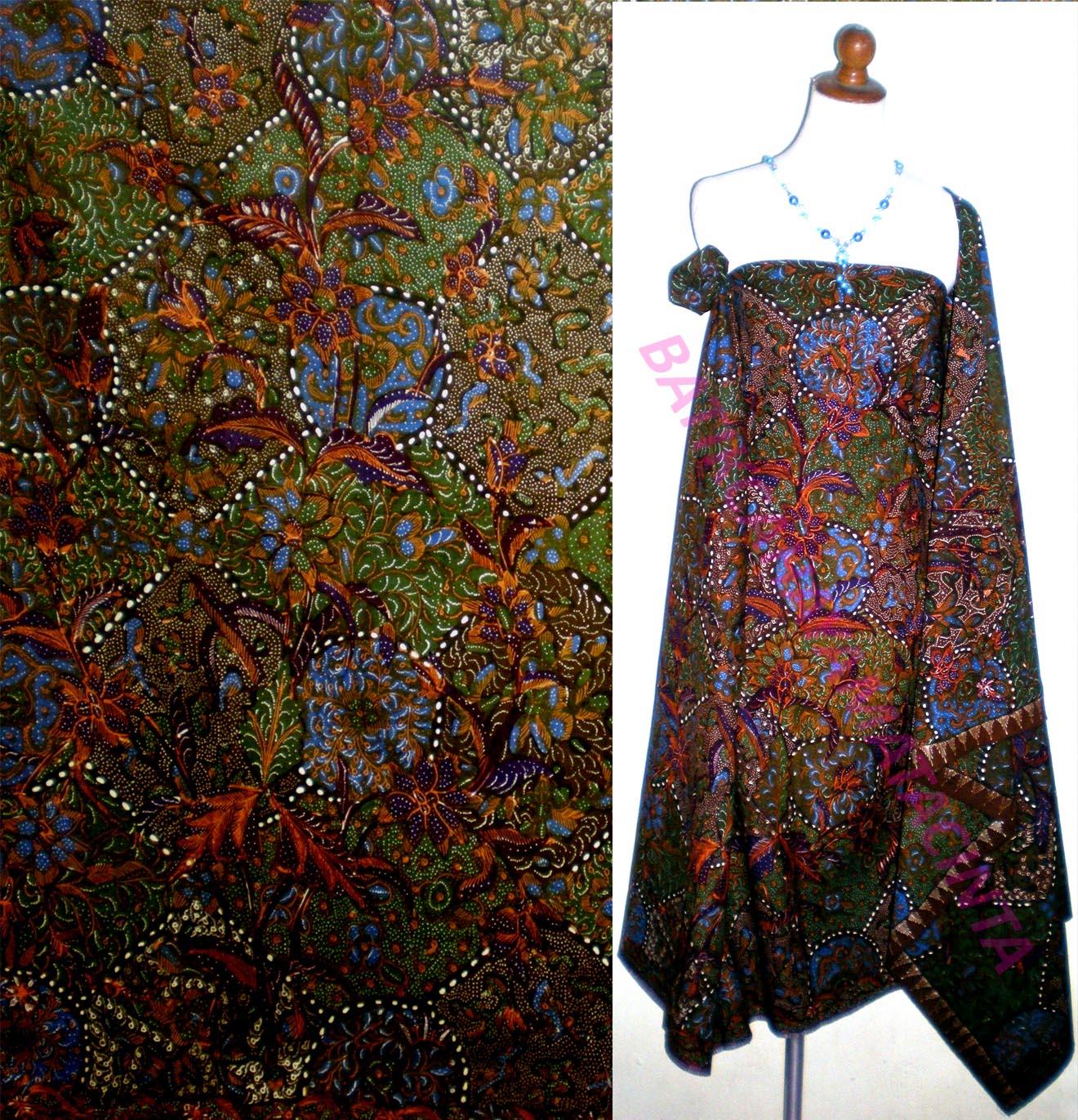 Batik Tulis Kombinasi Cirebon Kode  CRB- 071 (Sarung) Harga  Rp 115.000 1e3687530b